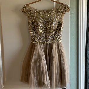 Swarovski Crystal ballerina style dress